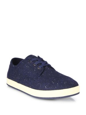 Toms Paseo Low-top Canvas Sneakers In Navy