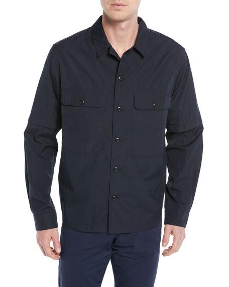Vince Regular Fit Shirt Jacket In New Coastal