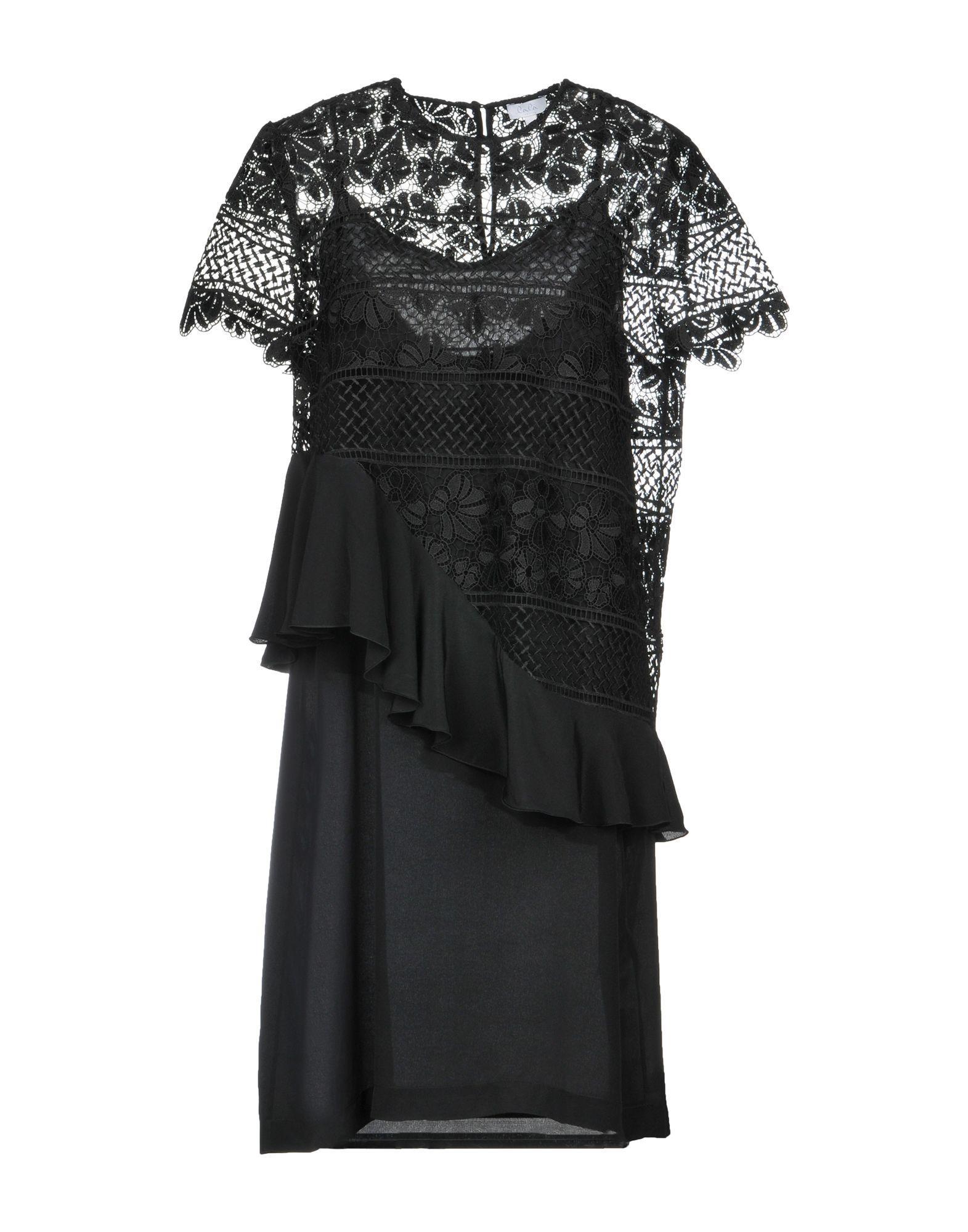 Lala Berlin Knee-length Dress In Black