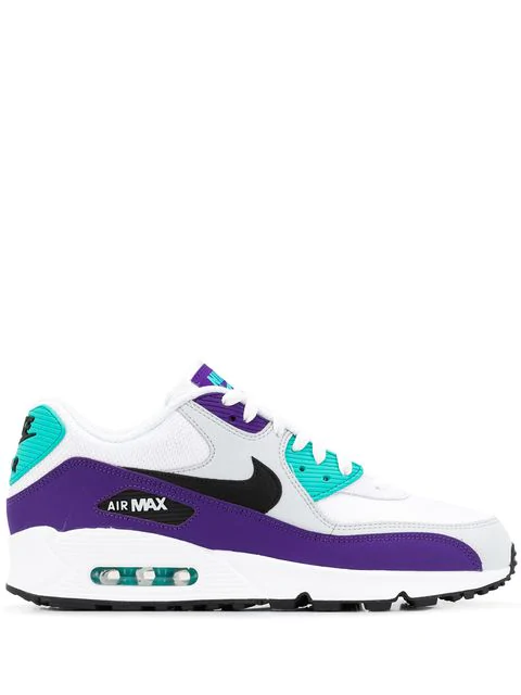 Nike Men's Air Max 90 Essential Lace Up Sneakers In Purple