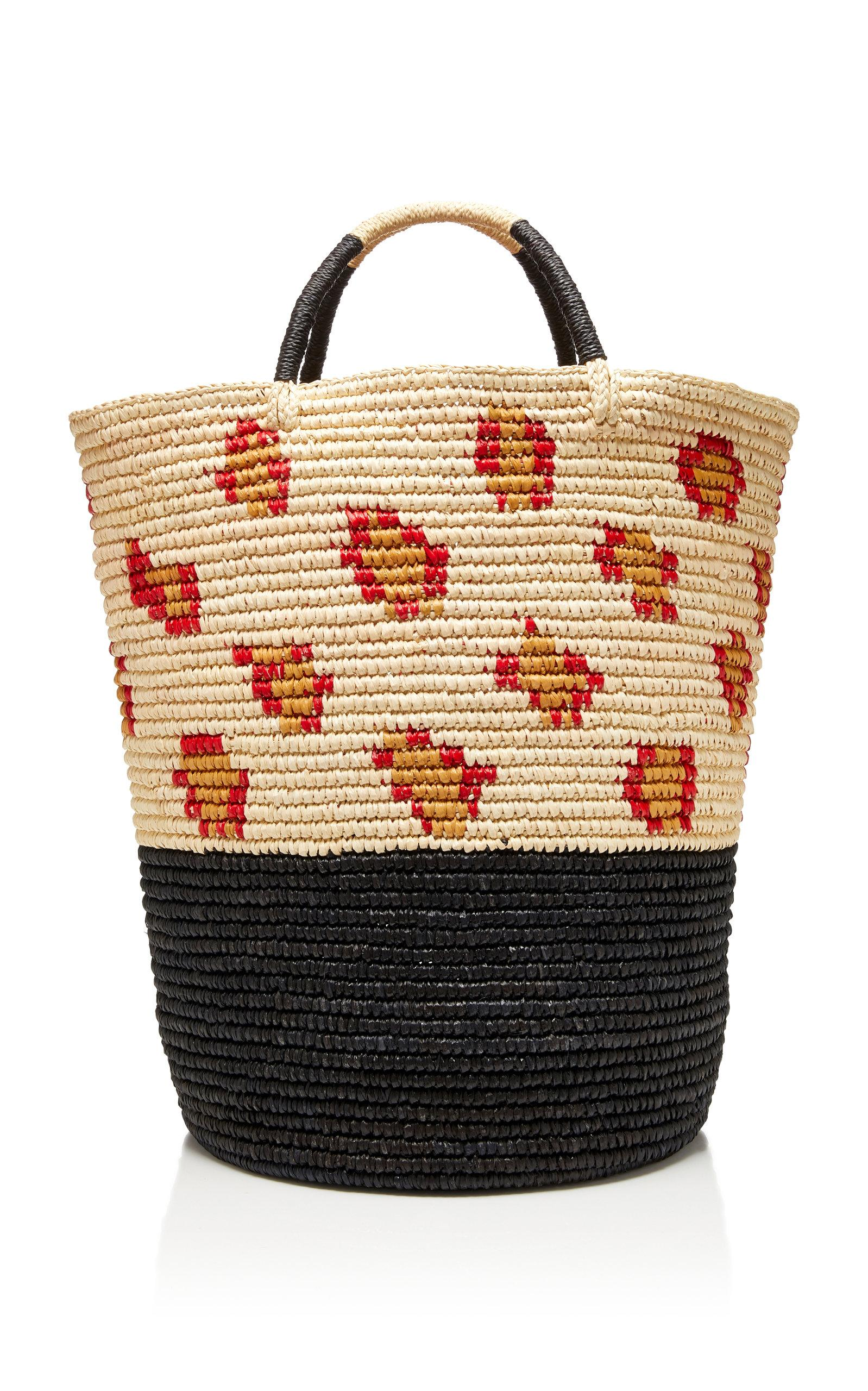 e151678740d Sensi Studio Printed Straw Tote In Animal | ModeSens