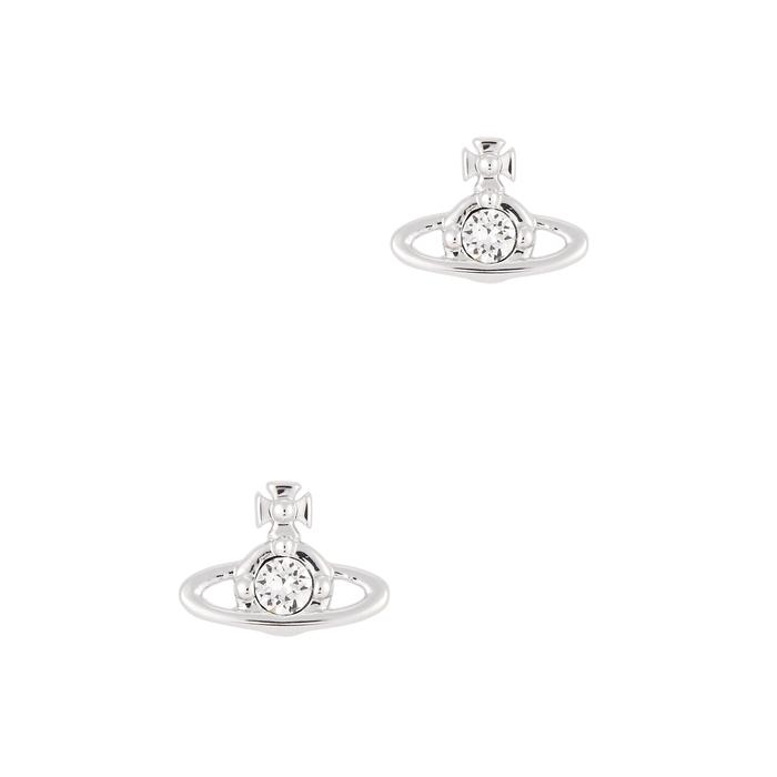 87f3a4dc9 Vivienne Westwood Nano Solitaire Orb Stud Earrings In Silver | ModeSens
