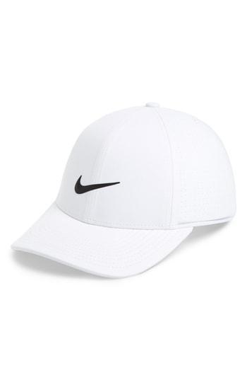 52aee699 Nike Aerobill Legacy 91 Golf Hat In White/ Anthracite/ Black   ModeSens