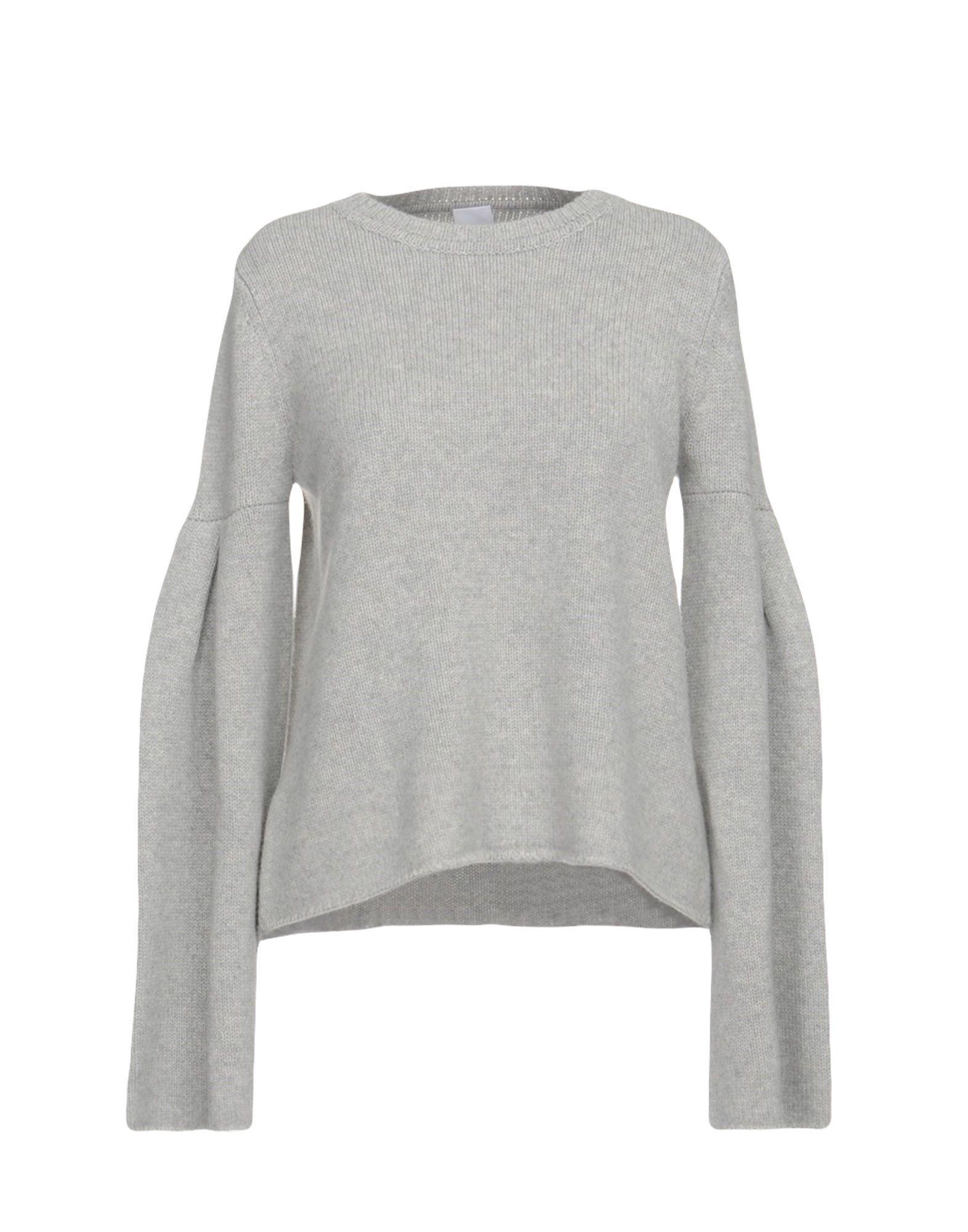 Iris & Ink Cashmere Blend In Light Grey