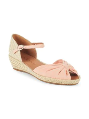 d546944e08b By Kenneth Cole Lucille Espadrille Wedge Sandal in Mushroom