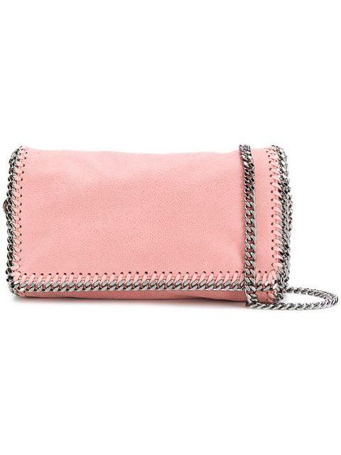 Stella Mccartney Falabella Crossbody Bag In Pink