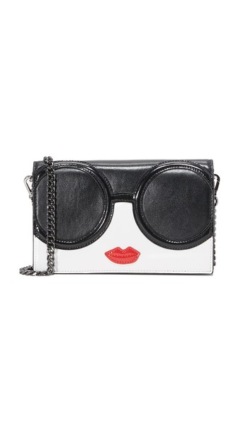 Alice And Olivia Stace Face Wallet Cross Body Bag In Multi