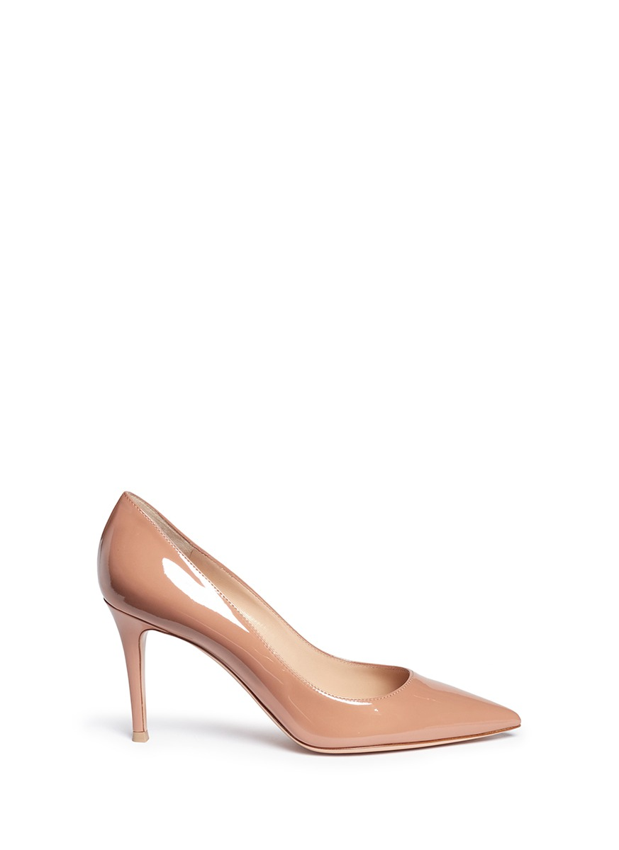 aed9d49794b 'Gianvito 85' Patent Leather Pumps
