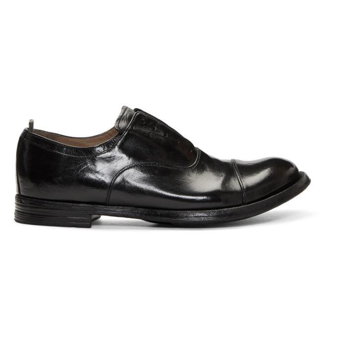 da90a6cc6833 OFFICINE CREATIVE. Officine Creative Black Anatomia 15 Loafers ...