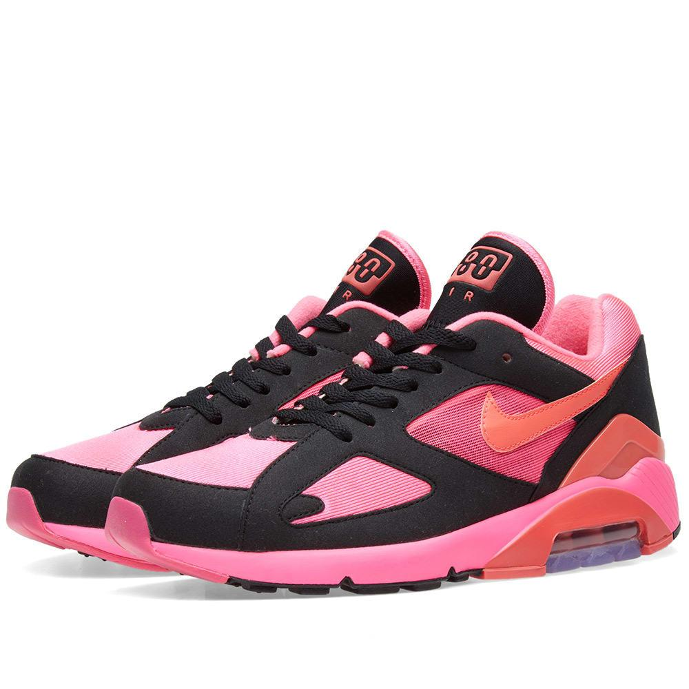 grande vente f6292 48206 Comme Des Garcons X Nike Air Max 180 in Pink