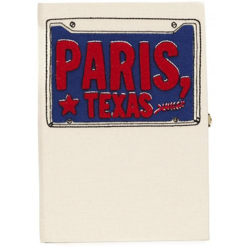 Olympia Le-tan 'paris Texas' Book Clutch
