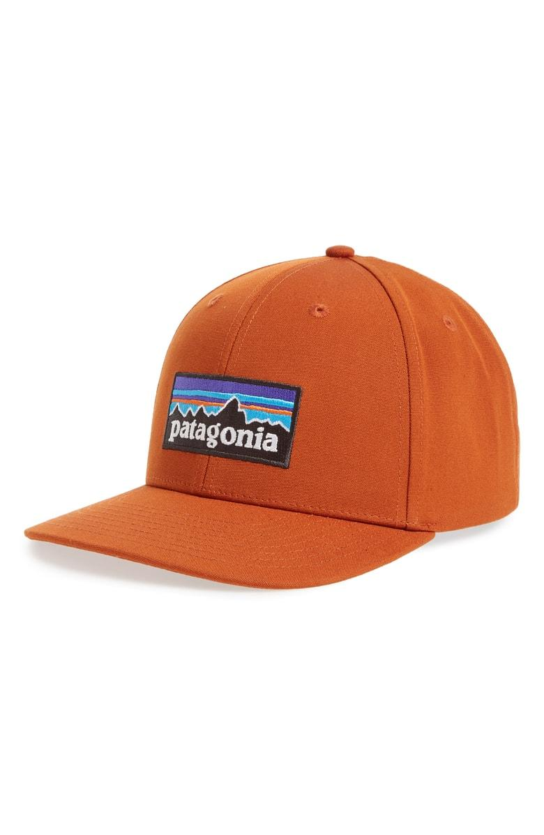 def86145 Patagonia P-6 Roger That Baseball Cap - Orange In Copper Ore | ModeSens