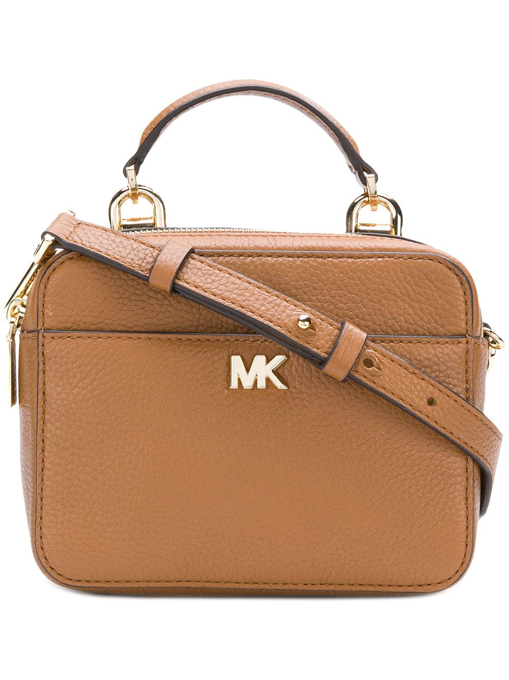 73a5b305287b Michael Michael Kors Mott Mini Crossbody - Brown | ModeSens