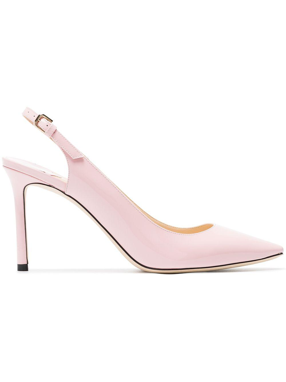 1ca108bdc7a7 Jimmy Choo Pink Erin 85 Patent Leather Pumps