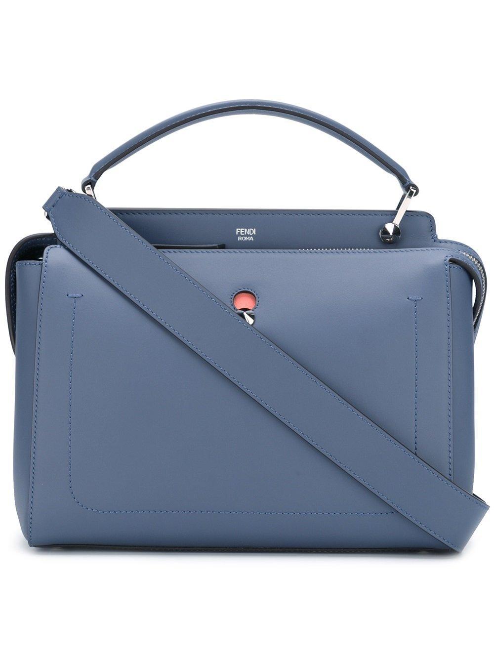 e4bf6f3d37be Fendi  Dotcom  Handtasche - Blau In Blue