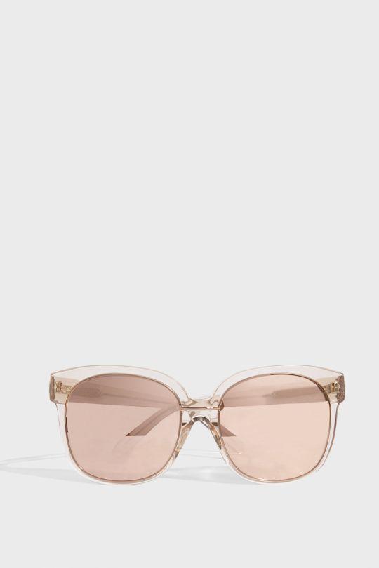Linda Farrow Luxe Square-frame Acetate Sunglasses In R Gold