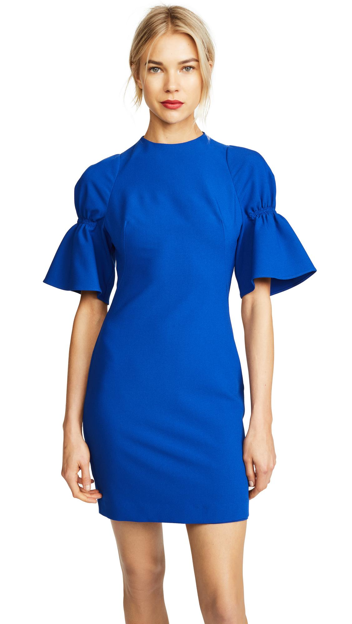 ee5e6003 Black Halo Elena Mini Dress In Cobalt | ModeSens