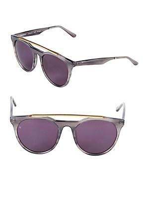 Smoke X Mirrors 52Mm Aviator Sunglasses In Grey