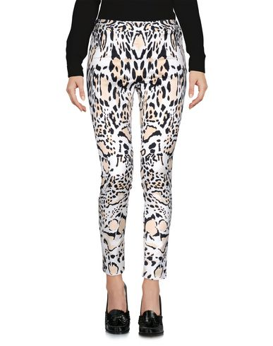 Roberto Cavalli Casual Pants In Ivory