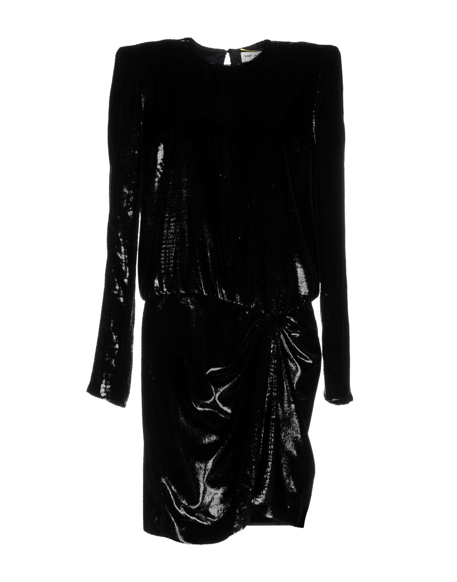 Saint Lau Short Dress In Black