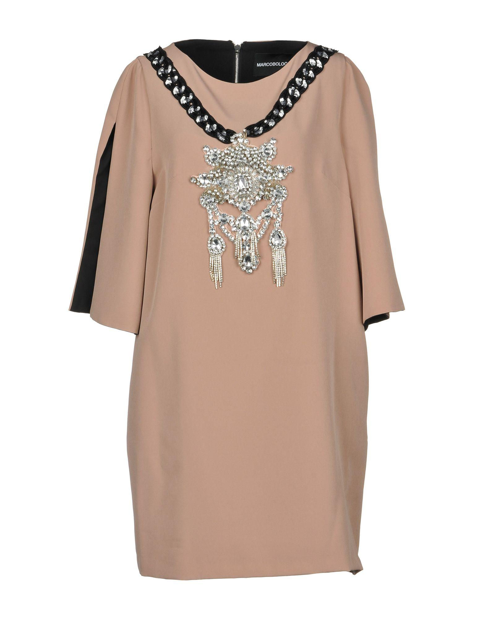 Marco Bologna Short Dress In Pink