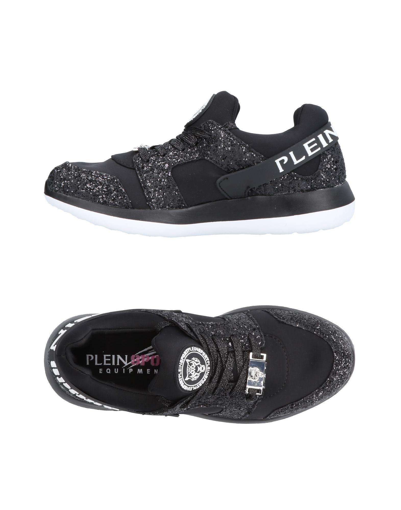 Plein Sport Sneakers In Black