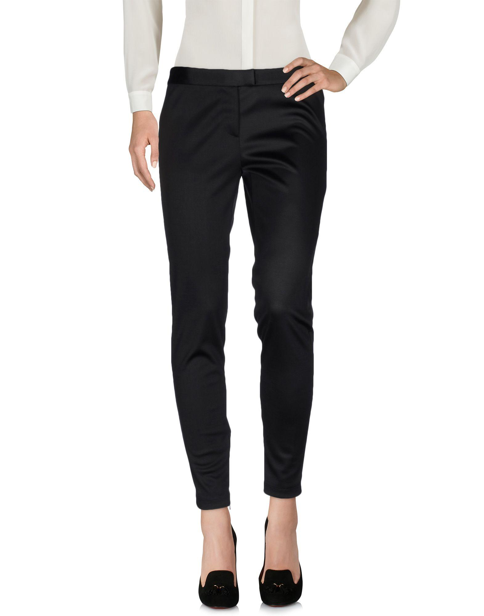 Moschino Cheap And Chic Casual Pants In Black