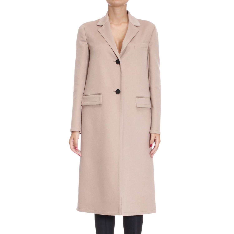 Valentino Coat Coat Woman  In Beige