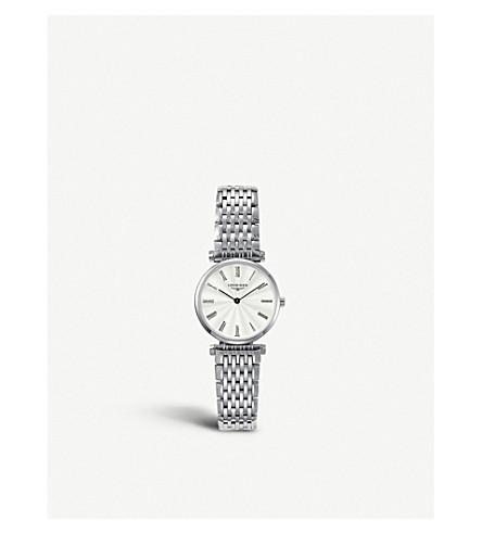 Longines L42094716 La Grande Classique Watch In Silver