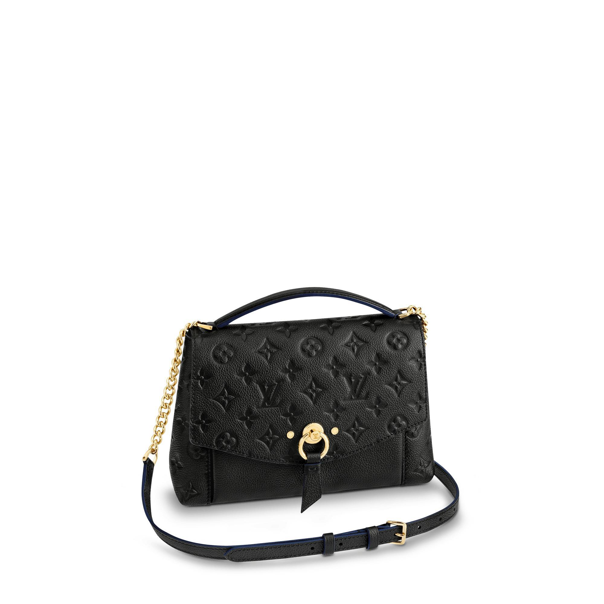 ccf4bee32ae9 Louis Vuitton Blanche Bb In Noir