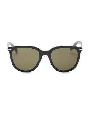 419c1bb84053 Dior 51Mm Transparent Square Sunglasses In Black