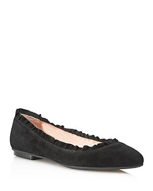 3e5cf9415bc3 Kate Spade New York Women s Nicole Too Suede Flats In Black
