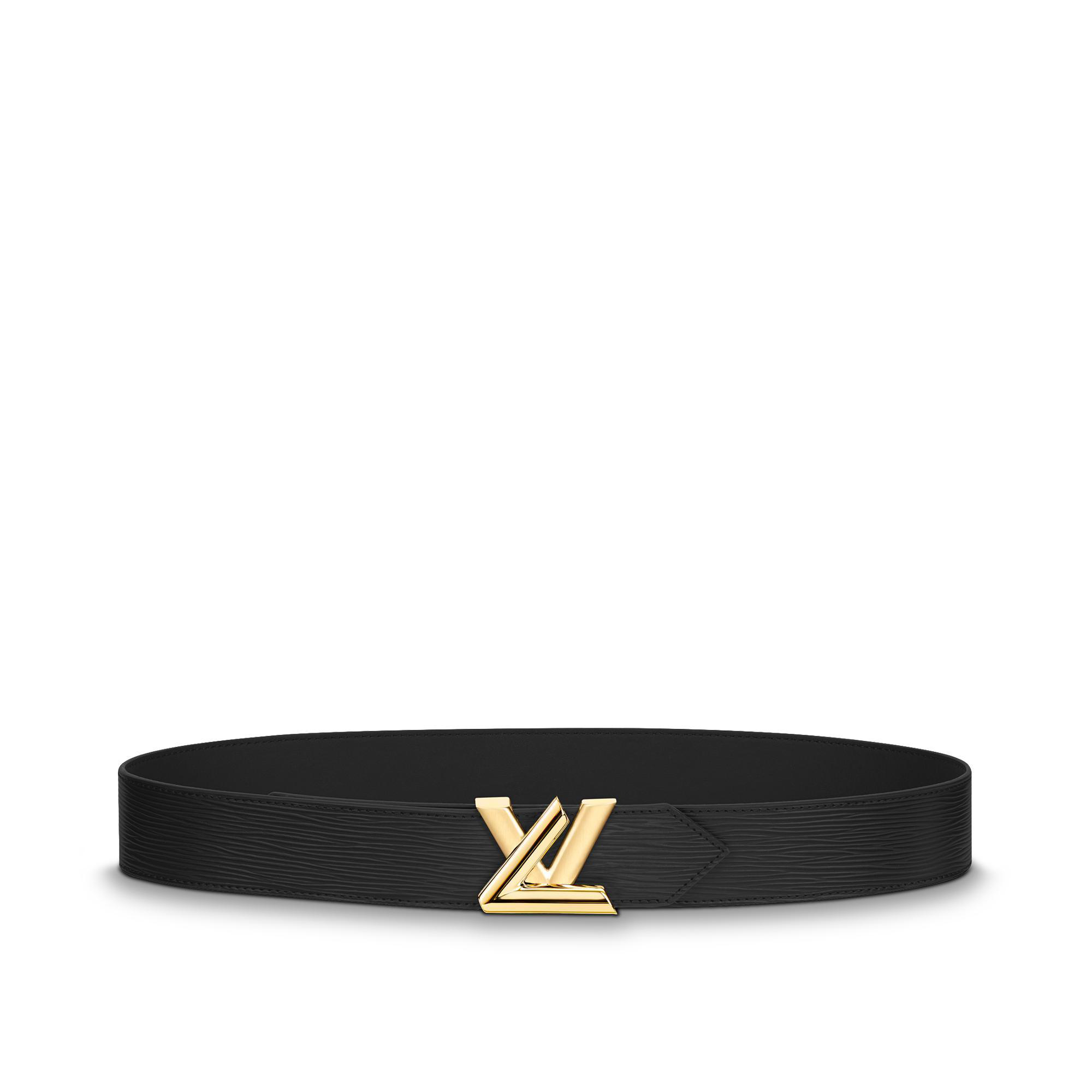 0001dac5614a Louis Vuitton Lv Twist 40Mm Belt In Black