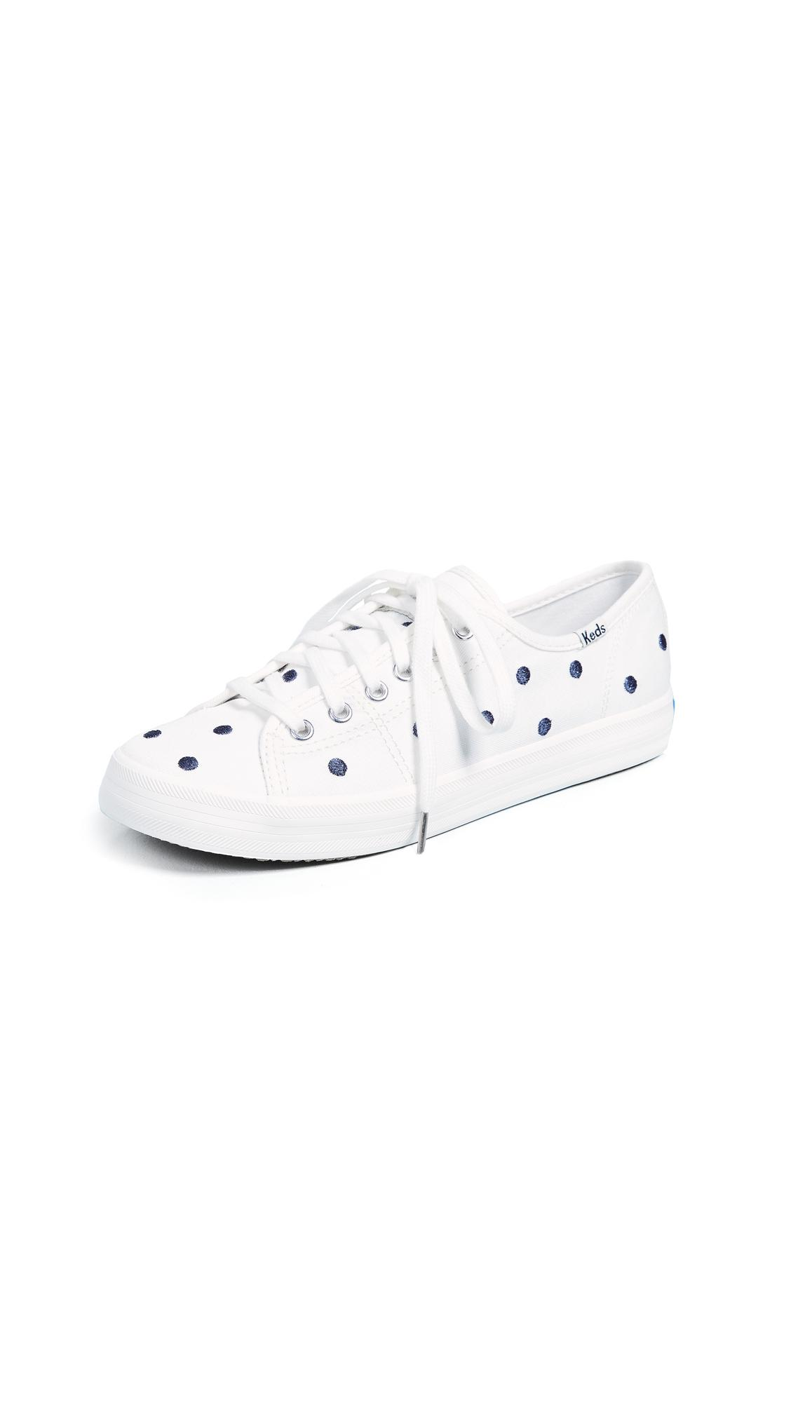 aec6de20d50 Keds X Kate Spade Dancing Dot Sneakers In Cream Navy