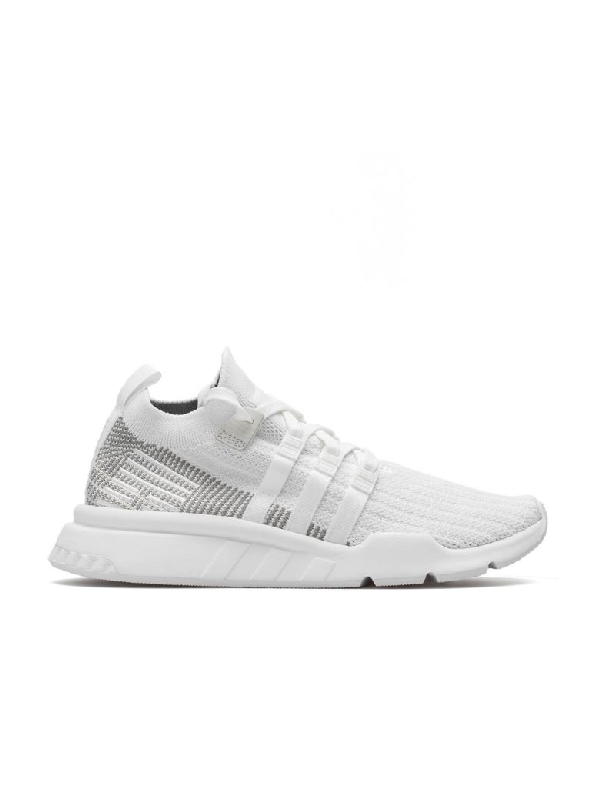best cheap 34441 944a4 Eqt Support Mid Adv Primeknit Sneakers - White