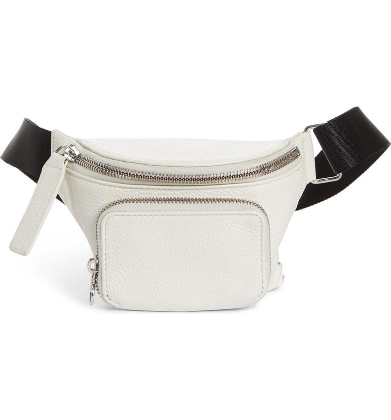 ab9a3a1610fc Kara Leather Bum Bag - White | ModeSens