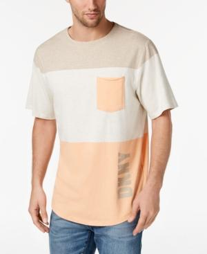 045c38779a1be9 Dkny Men's Colorblocked Pocket T-Shirt, Created For Macy's In Hummus Combo