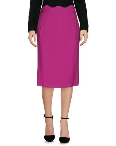 Emporio Armani Knee Length Skirt In Mauve
