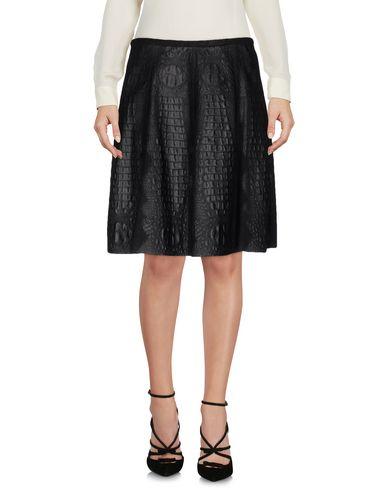 Emporio Armani Knee Length Skirts In Black