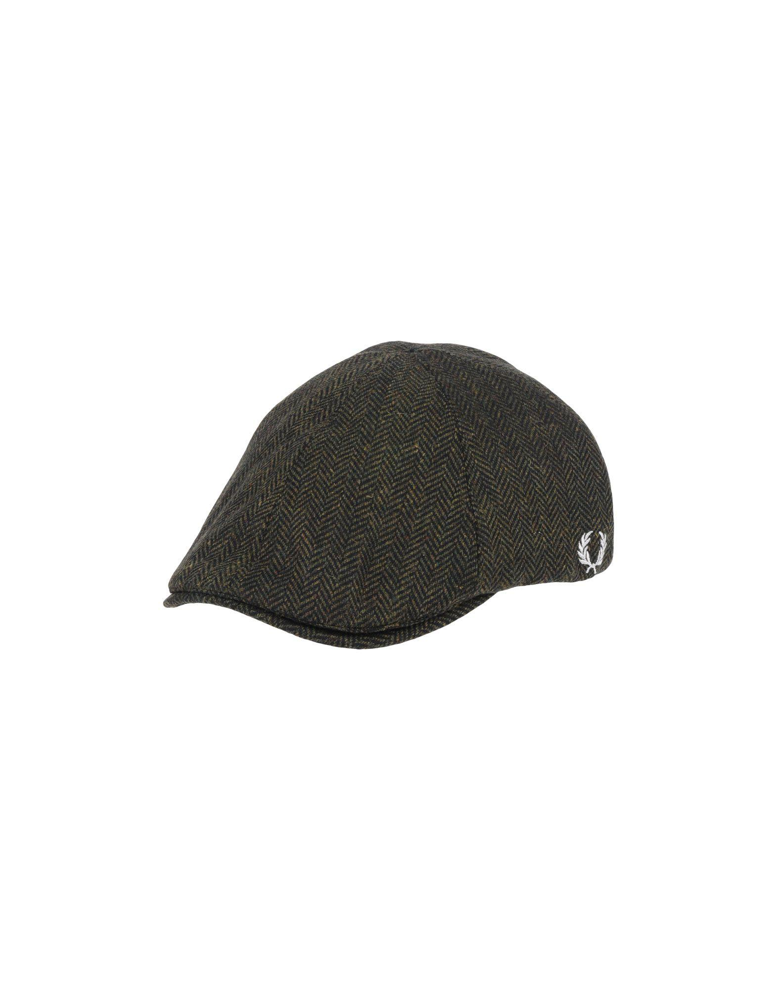 Fred Perry Hats In Dark Green  f6df7c43e5f