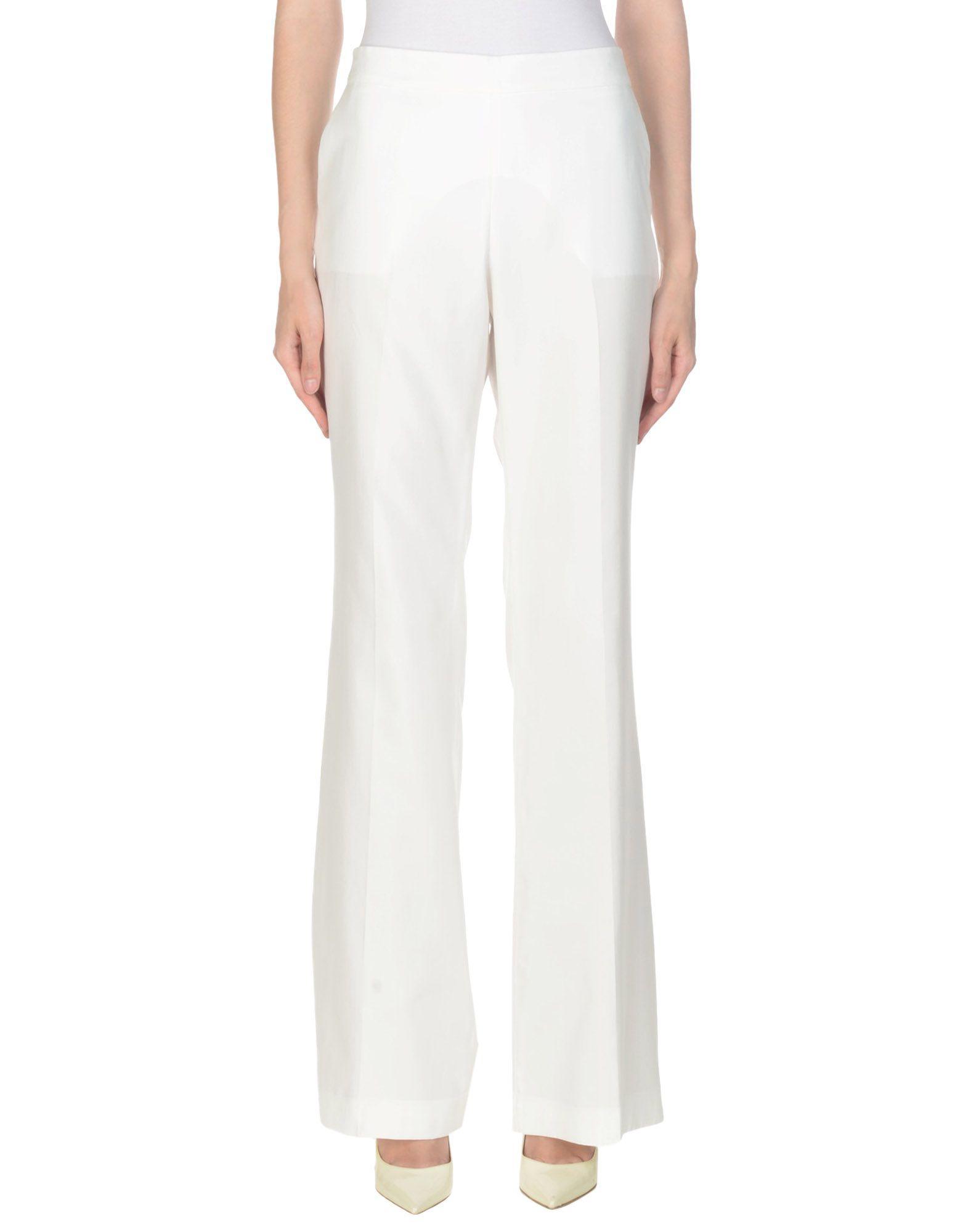 Rossella Jardini Casual Pants In White