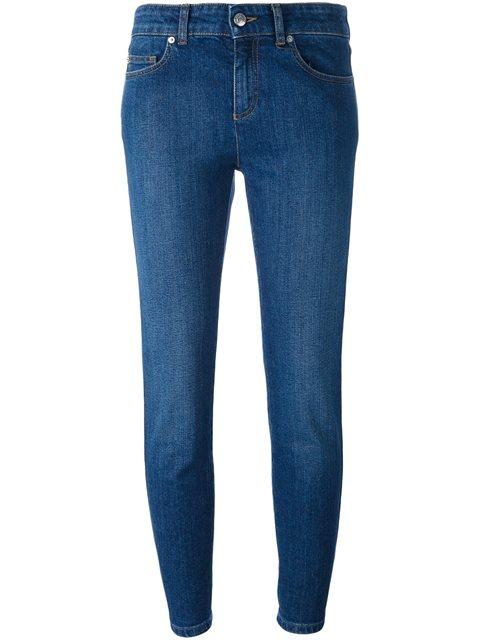 Alexander Mcqueen Cropped Jeans