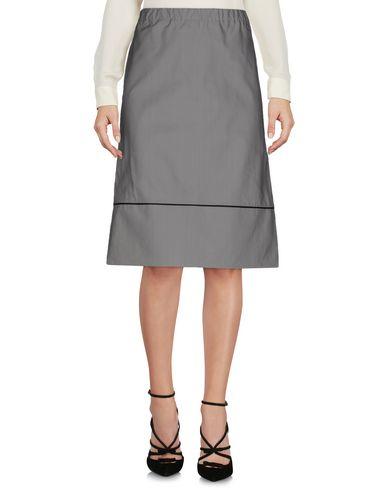 Marni Knee Length Skirt In Grey