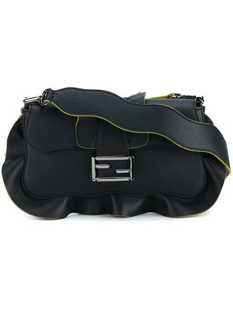 Fendi Baguette Shoulder Bag - Blue