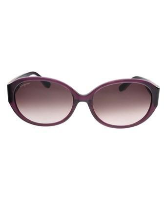4b78f8060 Salvatore Ferragamo Sf664Sa 513 Purple Oval Sunglasses   ModeSens