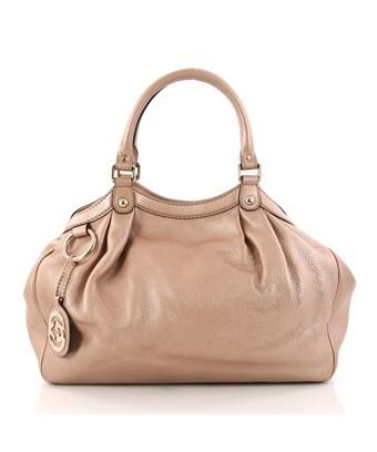 3852b118907 Gucci Pre-Owned  Sukey Tote Leather Medium In Pink