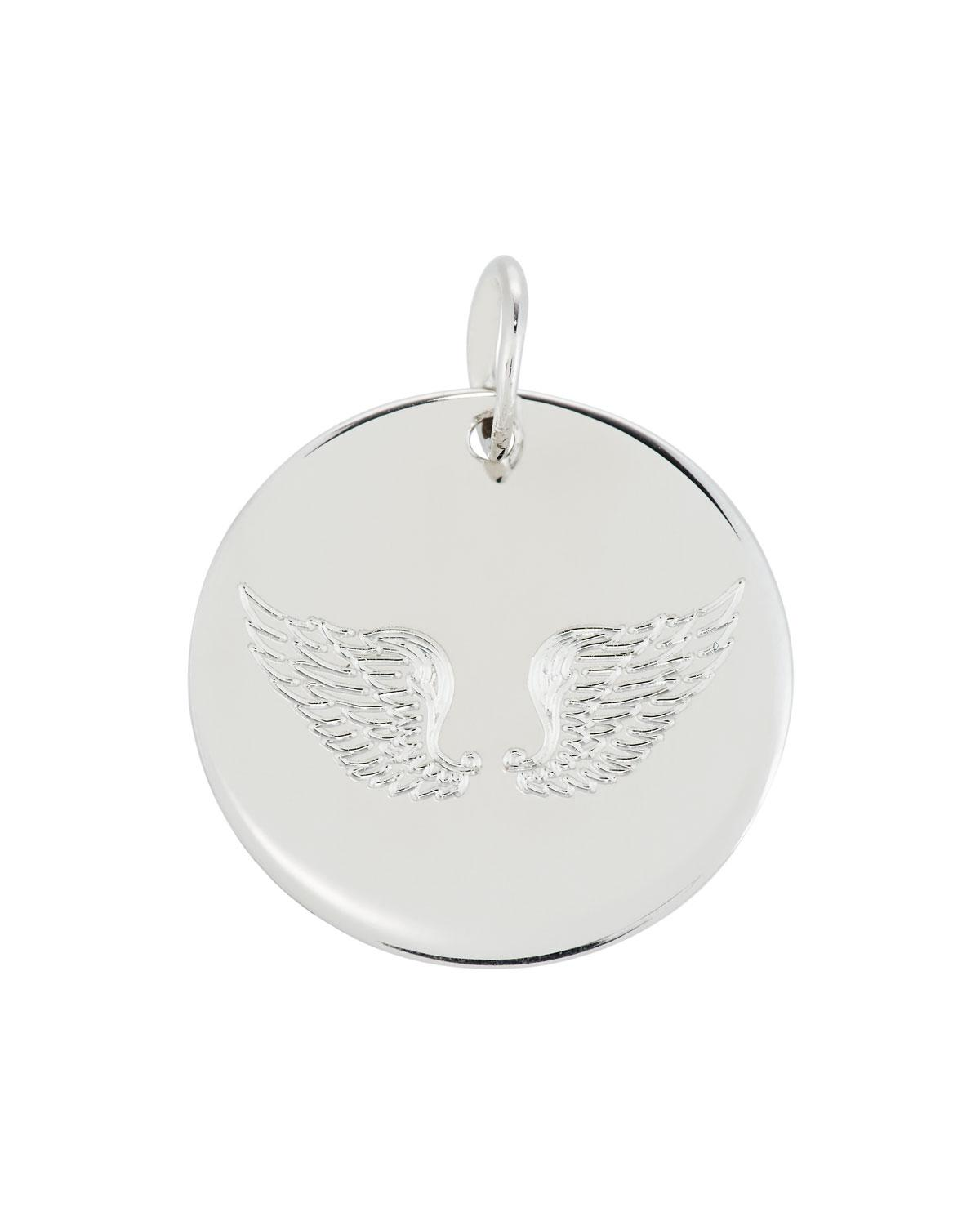 Emily & Ashley Sterling Silver Wing Charm
