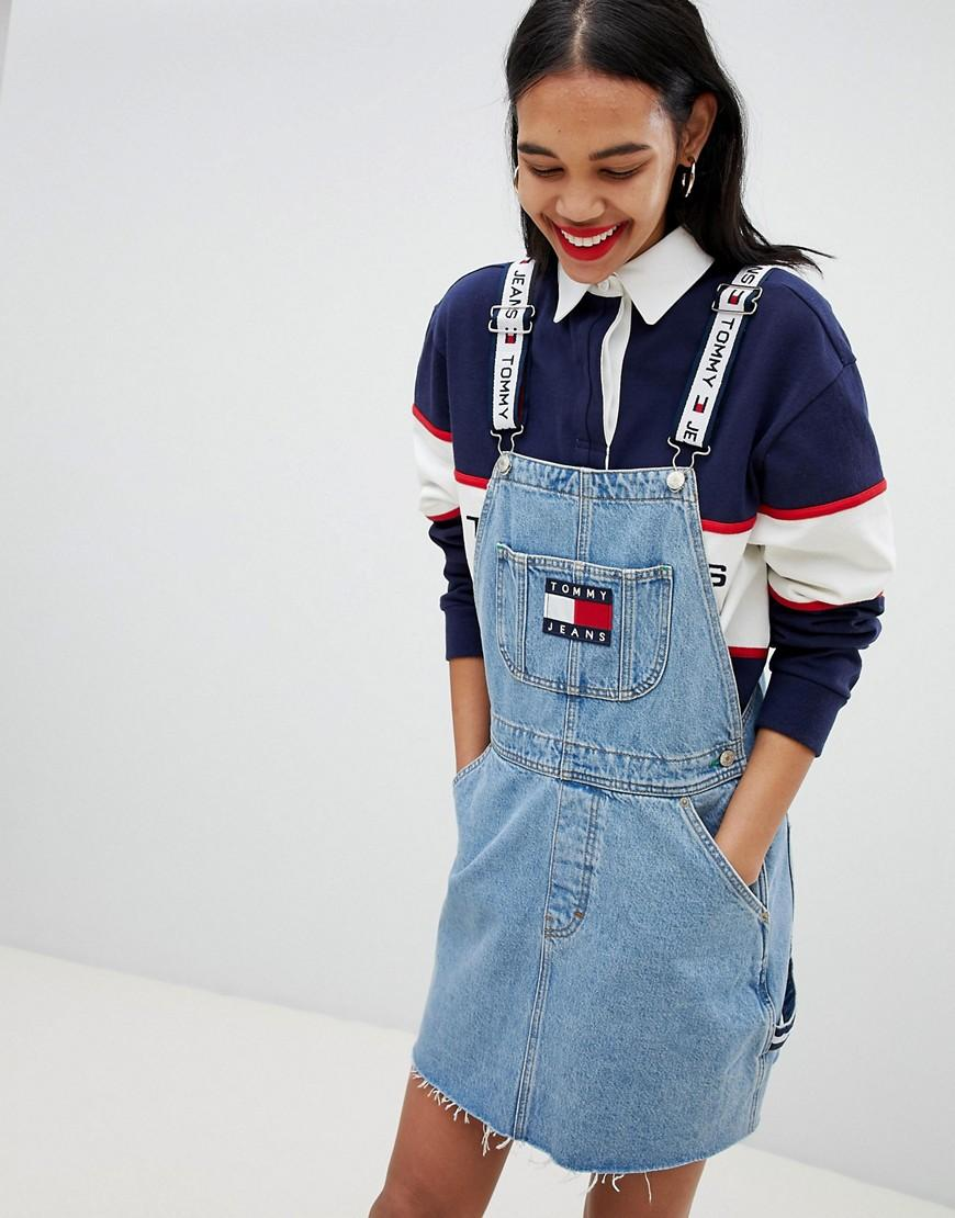 fc961abdd Tommy Jeans Tommy Jean 90S Capsule 5.0 Denim Overall Dress - Blue ...