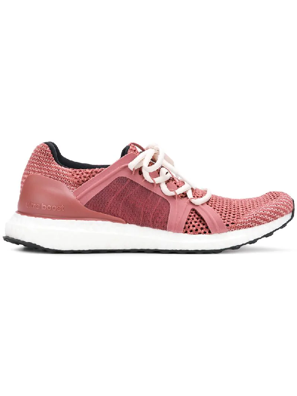 787f4707ab18d Adidas By Stella Mccartney Ultraboost Knitted Trainer Runner Sneakers In  Pink