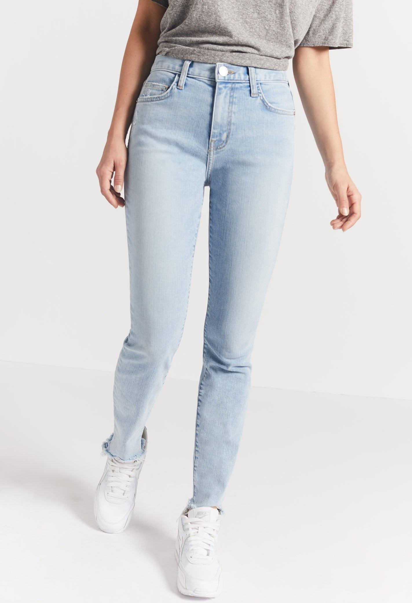 aff442cc5 Current Elliott The High Waist Ankle Skinny Jean In Barren C | ModeSens
